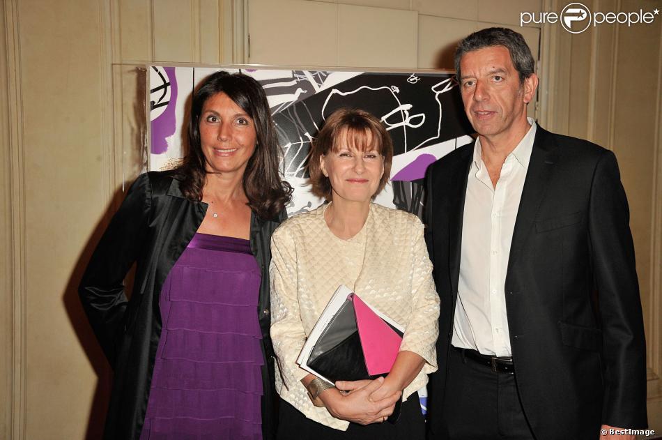Patricia Chamon, Michel Cymes et Nathalie
