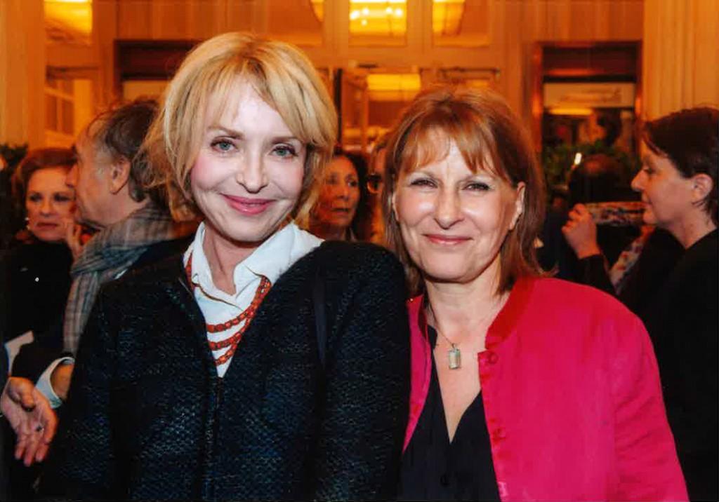 Fanny Cottençon et Patricia Chalon