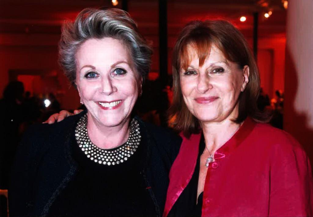 Françoise Laborde et Patricia Chalon