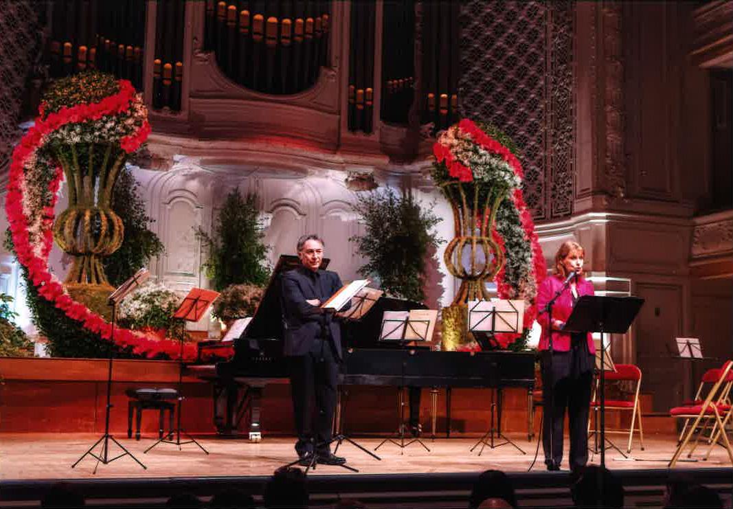 Richard Berry, le parrain du gala et Patricia Chalon, présidente de l'association